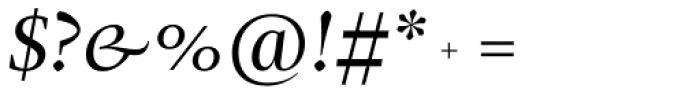 Christel Display Regular Italic Font OTHER CHARS