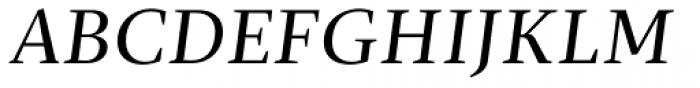 Christel Display Regular Italic Font UPPERCASE