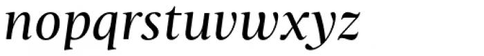 Christel Display Regular Italic Font LOWERCASE