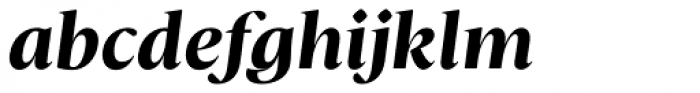 Christel Poster Bold Italic Font LOWERCASE