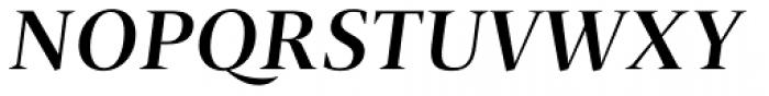 Christel Poster Medium Italic Font UPPERCASE
