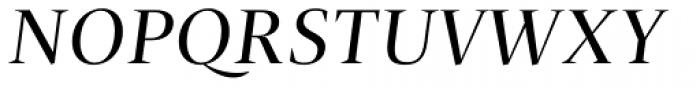 Christel Poster Regular Italic Font UPPERCASE