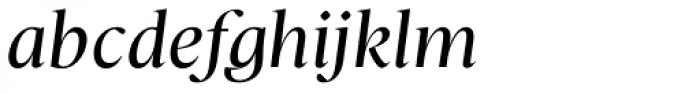 Christel Poster Regular Italic Font LOWERCASE