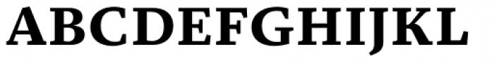 Christel Text Bold Font UPPERCASE