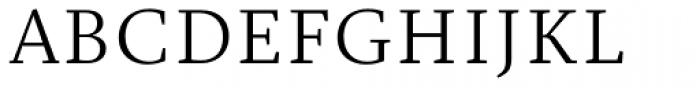Christel Text Light Font UPPERCASE