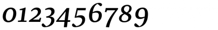 Christel Text Medium Italic Font OTHER CHARS