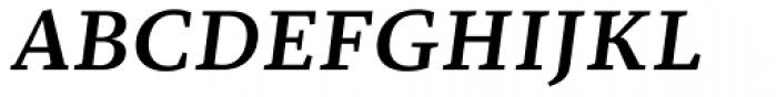 Christel Text Medium Italic Font UPPERCASE
