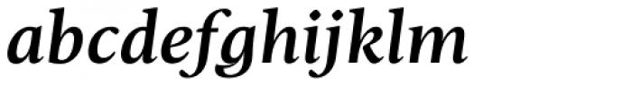 Christel Text Medium Italic Font LOWERCASE