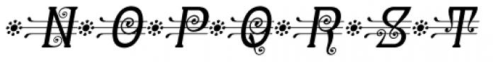 Christel Wagner Minuskel Italic Font UPPERCASE