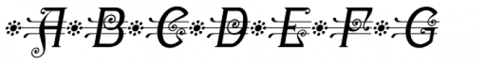 Christel Wagner Regular Fine Italic Font UPPERCASE