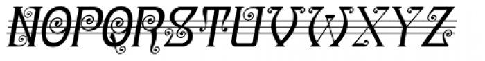 Christel Wagner Regular Fine Italic Font LOWERCASE