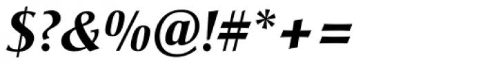 Christiana BQ Bold Italic Font OTHER CHARS