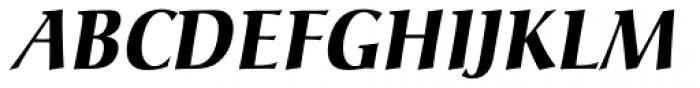 Christiana BQ Bold Italic Font UPPERCASE