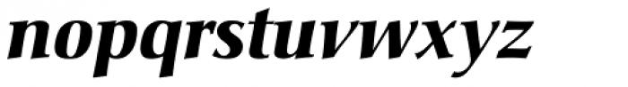 Christiana BQ Bold Italic Font LOWERCASE