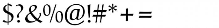Christiana BQ Regular Font OTHER CHARS