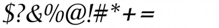 Christiana Italic Font OTHER CHARS