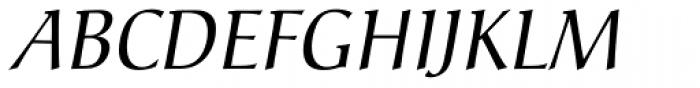 Christiana Italic Font UPPERCASE