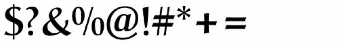 Christiana Medium Font OTHER CHARS