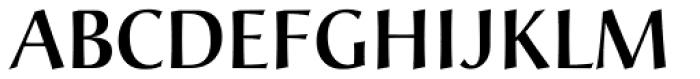 Christiana Medium Font UPPERCASE