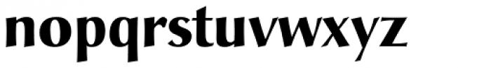 Christiana Pro Bold Font LOWERCASE