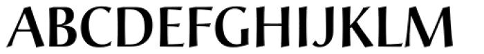 Christiana Pro Medium Font UPPERCASE