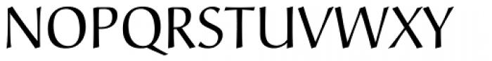 Christiana Pro Regular Font UPPERCASE