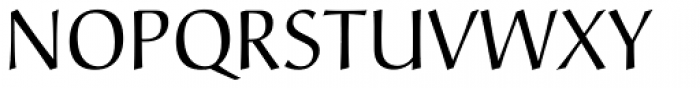Christiana Regular Font UPPERCASE