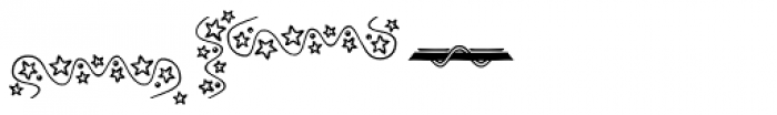 Christmas Dingbats 1 Font OTHER CHARS