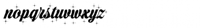 Christmas Sparkle Font LOWERCASE