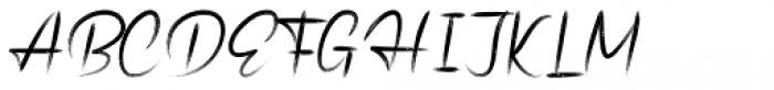 Christopher Pen Brush Regular Font UPPERCASE
