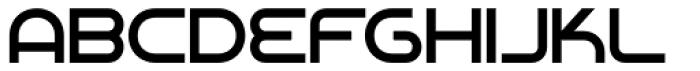 Chromium Yellow NF Font UPPERCASE