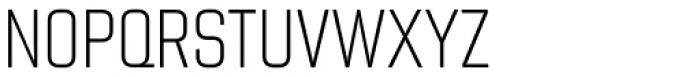 Chromoxome Pro Extra Light Font UPPERCASE