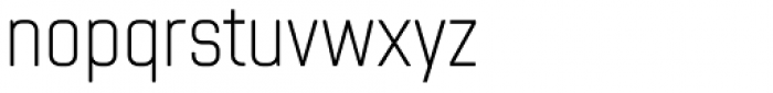 Chromoxome Pro Extra Light Font LOWERCASE