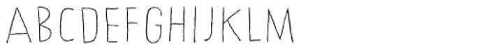 Chronic Line Font LOWERCASE