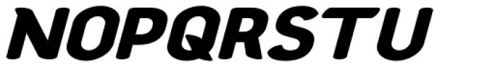 Chubbly Bold Italic Font UPPERCASE