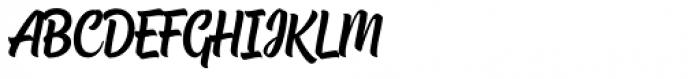 Chuck Noon Script Script Font UPPERCASE