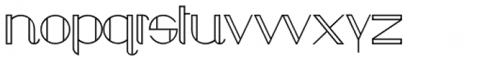 Chula Regular Font UPPERCASE