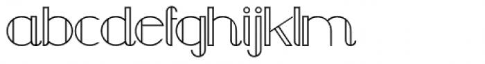Chula Regular Font LOWERCASE