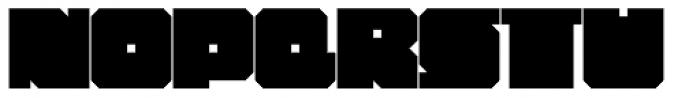 Chumbitos Bold Font UPPERCASE