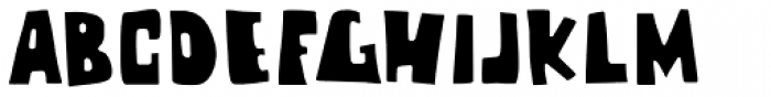 Chunky Chicken Font UPPERCASE
