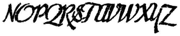 Chupito Brownie Bold Font UPPERCASE