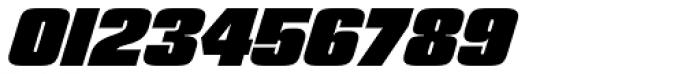 Churchward 69 Black Italic Font OTHER CHARS