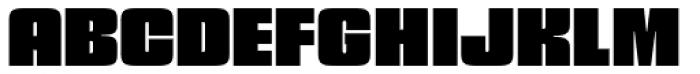 Churchward 69 Black Font UPPERCASE