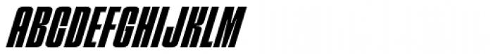 Churchward 69 Bold Italic Font UPPERCASE
