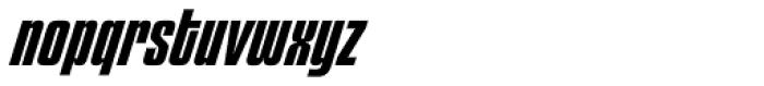 Churchward 69 Bold Italic Font LOWERCASE