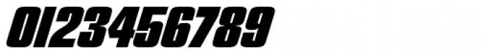 Churchward 69 Extra Bold Italic Font OTHER CHARS