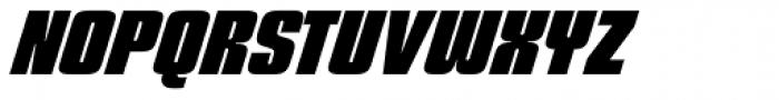 Churchward 69 Extra Bold Italic Font UPPERCASE