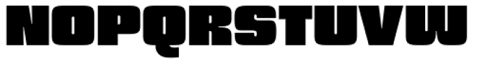 Churchward 69 Ultra Black Font UPPERCASE