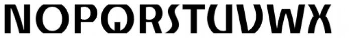 Churchward Alien Bold Font UPPERCASE