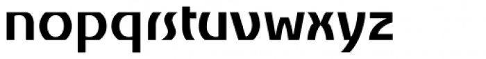 Churchward Alien Bold Font LOWERCASE